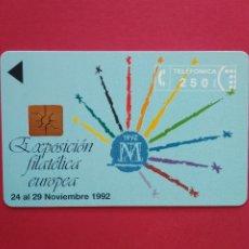 Tarjetas telefónicas de colección: TARJETA TELEFONICA DE ESPAÑA USADA P - 007, 11/92 , TIRADA 2000. Lote 178594957