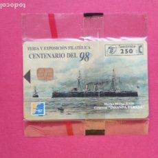 Tarjetas telefónicas de colección: TARJETA TELEFONICA DE ESPAÑA NUEVA PRECINTADA P - 290 FILATELIA 97 I 10/97 , TIRADA 6000. Lote 178974195