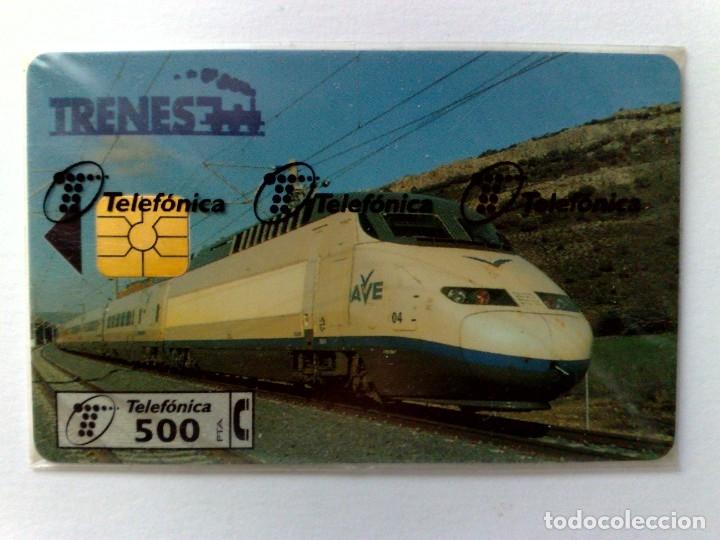 TARJETA TELEFÓNICA,ALTA VELOCIDAD (250 PTA.) TIRADA 5.000 EJEMPLARES (05/97) NUEVA CON PRECINTO (Coleccionismo - Tarjetas Telefónicas)