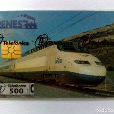 Cartes Téléphoniques de collection: TARJETA TELEFÓNICA,ALTA VELOCIDAD (250 PTA.) TIRADA 5.000 EJEMPLARES (05/97) NUEVA CON PRECINTO. Lote 182472780