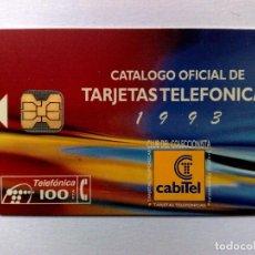 Cartes Téléphoniques de collection: P-057:TARJETA TELEFÓNICA,CLUB CT'93 (100 PTA.) TIRADA 3.000 EJEMPLARES (05/94). Lote 183546373