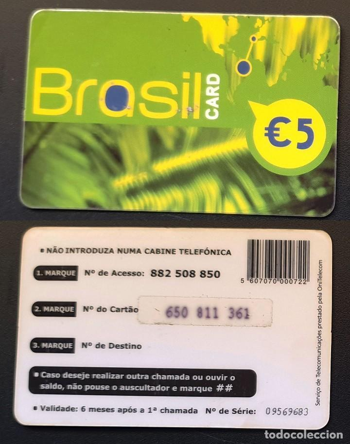 TARJETA TELEFONICA - BRASIL CARD (Coleccionismo - Tarjetas Telefónicas)