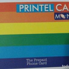 Tarjetas telefónicas de colección: TARJETA PREPAGO 2000 PTS. PRINTEL CARD. TWC GROUP. NUEVA SIN USAR. Lote 184166471