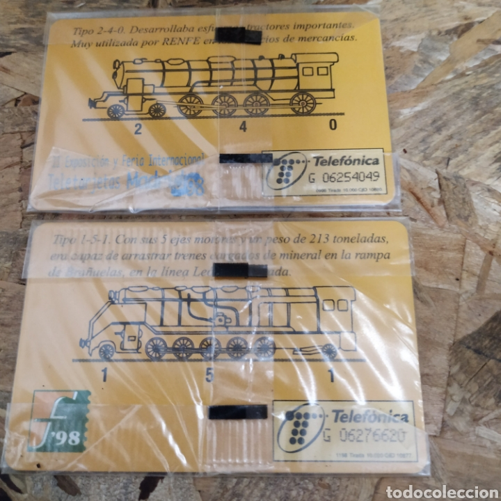 Tarjetas telefónicas de colección: Tarjetas telefónicas sin usar - Foto 3 - 220175082