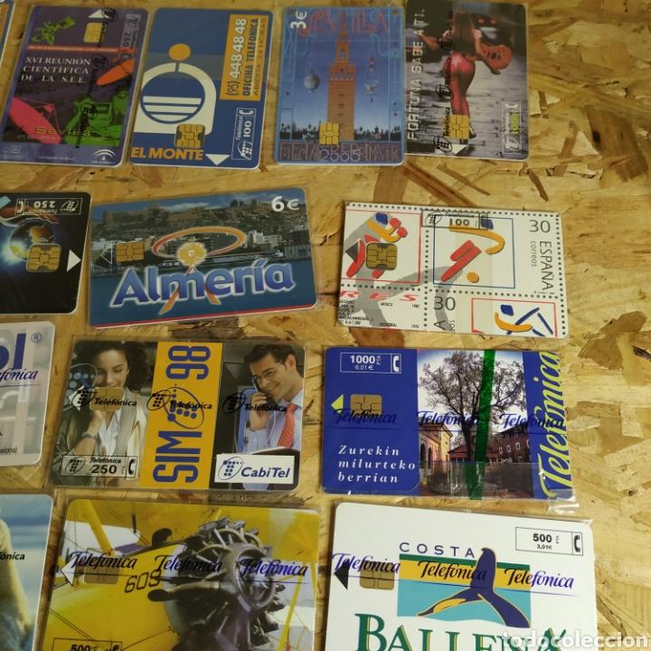 Tarjetas telefónicas de colección: 41 tarjetas telefónicas sin usar - Foto 2 - 190144296