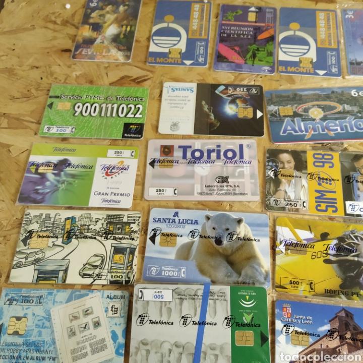 Tarjetas telefónicas de colección: 41 tarjetas telefónicas sin usar - Foto 3 - 190144296