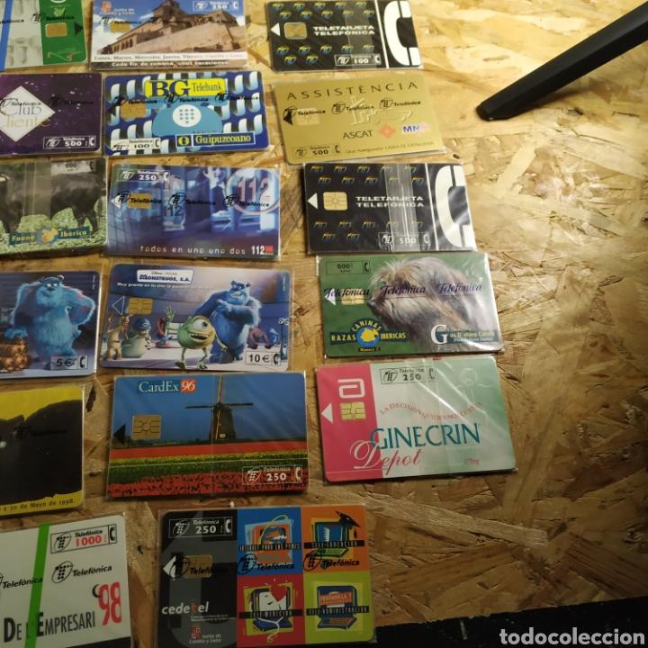Tarjetas telefónicas de colección: 41 tarjetas telefónicas sin usar - Foto 4 - 190144296