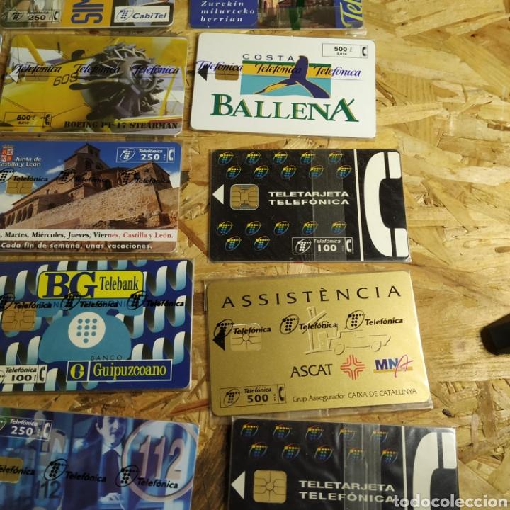 Tarjetas telefónicas de colección: 41 tarjetas telefónicas sin usar - Foto 7 - 190144296