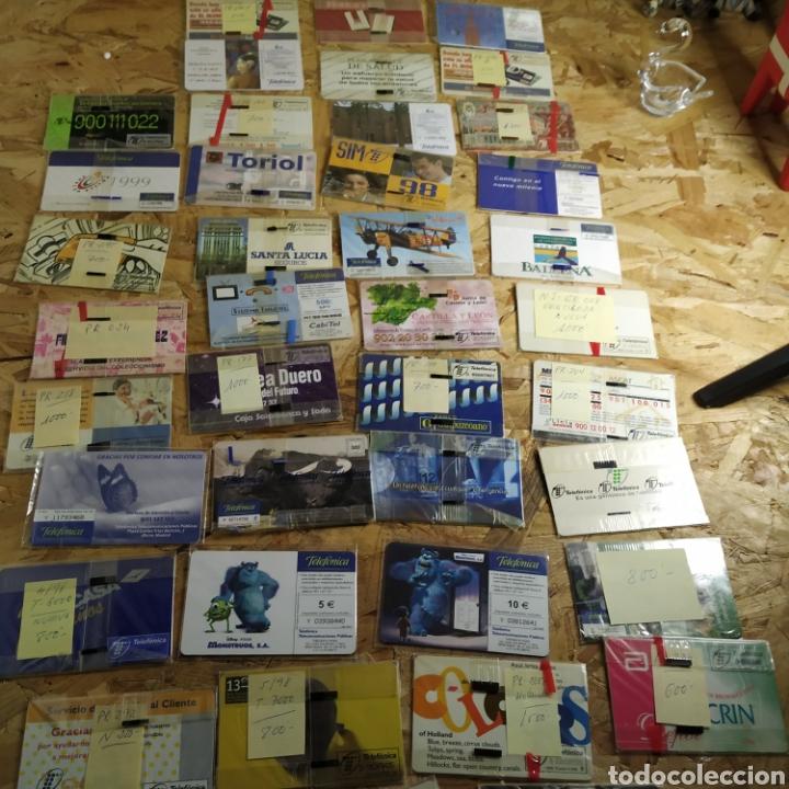 Tarjetas telefónicas de colección: 41 tarjetas telefónicas sin usar - Foto 8 - 190144296