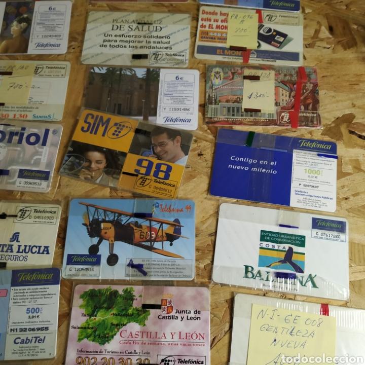 Tarjetas telefónicas de colección: 41 tarjetas telefónicas sin usar - Foto 9 - 190144296