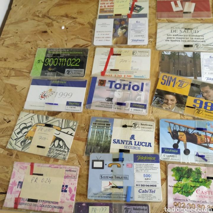 Tarjetas telefónicas de colección: 41 tarjetas telefónicas sin usar - Foto 10 - 190144296