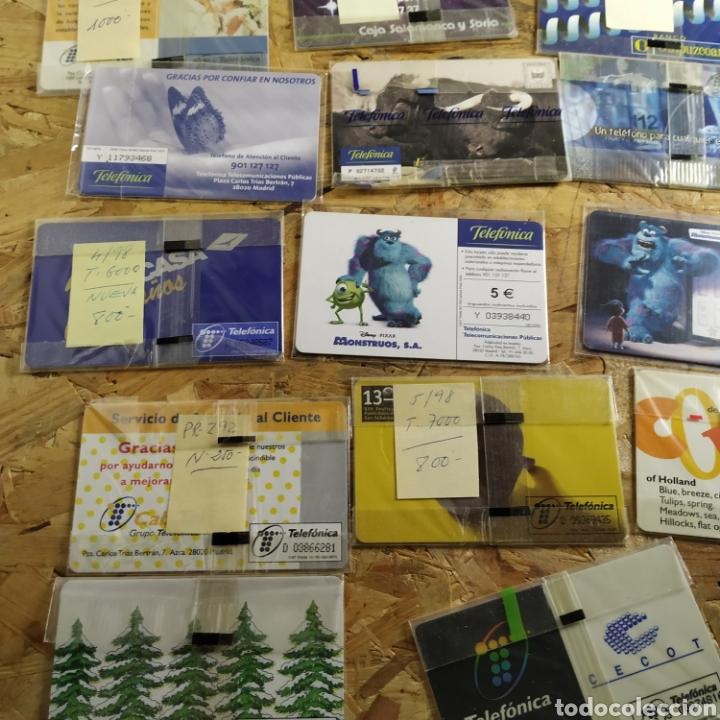 Tarjetas telefónicas de colección: 41 tarjetas telefónicas sin usar - Foto 12 - 190144296