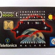 Tarjetas telefónicas de colección: TARJETA TELEFÓNICA;P-001**:C.A.M.R. TORREMOLINOS (1.000 PTA.) T.3.275 EX.,NUEVO 02/92 (DESCRIPCIÓN). Lote 191474572