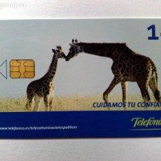 Tarjetas telefónicas de colección: TARJETA TELEFÓNICA,CUIDAMOS TU CONFIANZA (1€) TIRADA 35.000 EJEMPLARES (04/06). Lote 191702958