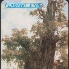 Tarjetas telefónicas de colección: TARJETA TELEFÓNICA MEXICO LADATEL $100 TELMEX PHONECARD TELEPHONE CHIP TELÉFONO PUBLICO. Lote 191828291