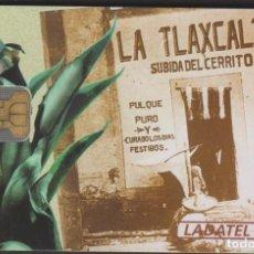 Tarjetas telefónicas de colección: TARJETA TELEFÓNICA MEXICO LADATEL $30 TELMEX PHONECARD TELEPHONE CHIP TELÉFONO PUBLICO PULQUERIAS. Lote 191828628