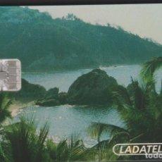 Tarjetas telefónicas de colección: TARJETA TELEFÓNICA MEXICO LADATEL $100 TELMEX PHONECARD TELEPHONE CHIP PUBLICO CHIP MODELO 1. Lote 191829286