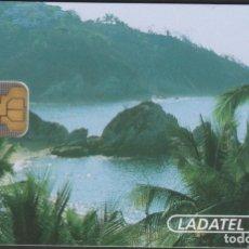 Tarjetas telefónicas de colección: TARJETA TELEFÓNICA MEXICO LADATEL $100 TELMEX PHONECARD TELEPHONE CHIP PUBLICO CHIP MODELO 2. Lote 191829321