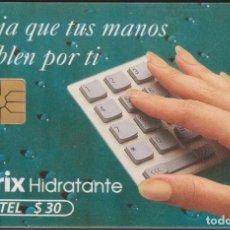 Tarjetas telefónicas de colección: TARJETA TELEFÓNICA MEXICO LADATEL $30 TELMEX PHONECARD TELEPHONE CHIP TELÉFONO ATRIX. Lote 191831125