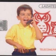 Tarjetas telefónicas de colección: TARJETA TELEFÓNICA MEXICO LADATEL $30 TELMEX PHONECARD TELEPHONE CHIP TELÉFONO TELCEL. Lote 191832761