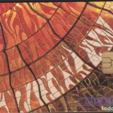 Tarjetas telefónicas de colección: TARJETA TELEFÓNICA MEXICO LADATEL $50 TELMEX PHONECARD TELEPHONE CHIP TELÉFONO VISION COSMOGONICA. Lote 191835780