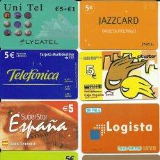 Tarjetas telefónicas de colección: LOTE DE 26 TARJETAS TELEFÓNICAS DIFERENTES DE ESPAÑA SIN CHIP , USADAS. Lote 192841765
