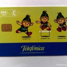 Tarjetas telefónicas de colección: TARJETA TELEFÓNICA:SOCIO NACIONAL DE LA COMPETICIÓN,SEVILLA'99 (250 PTA.) TIRADA 6.500 EX. . Lote 194593196