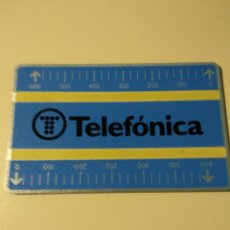 Tarjetas telefónicas de colección: TARJETA TELEFÓNICA SEGUNDA EMISIÓN. Lote 194702837