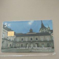 Tarjetas telefónicas de colección: LA GRANJA DE SAN ILDEFONSO (SEGOVIA) NUEVA. Lote 194941678