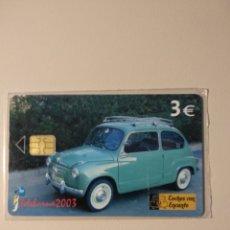 Cartões de telefone de coleção: TARJETA SEAT 600. Lote 234558970