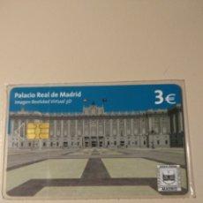 Tarjetas telefónicas de colección: TARJETA PALACIO REAL DE MADRID. Lote 195114227