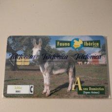 Tarjetas telefónicas de colección: FAUNA IBÉRICA. Lote 195306385