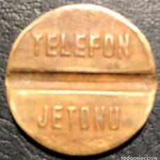 Tarjetas telefónicas de colección: FICHA TELEFÓNICA. Lote 195313021