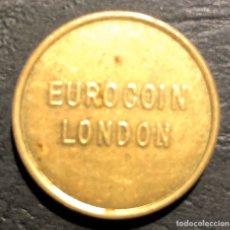 Tarjetas telefónicas de colección: EUROCOIN LONDON.. Lote 195315002