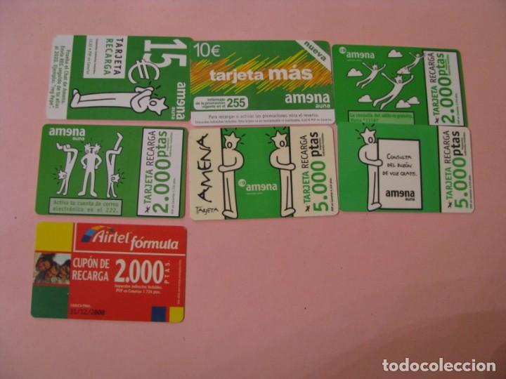 Tarjetas telefónicas de colección: LOTE DE 42 TARJETAS TELEFÓNICAS DE PREPAGO. DIFERENTES. - Foto 3 - 195332025