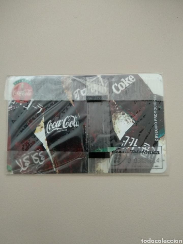 Tarjetas telefónicas de colección: COCA-COLA - Foto 2 - 195386873