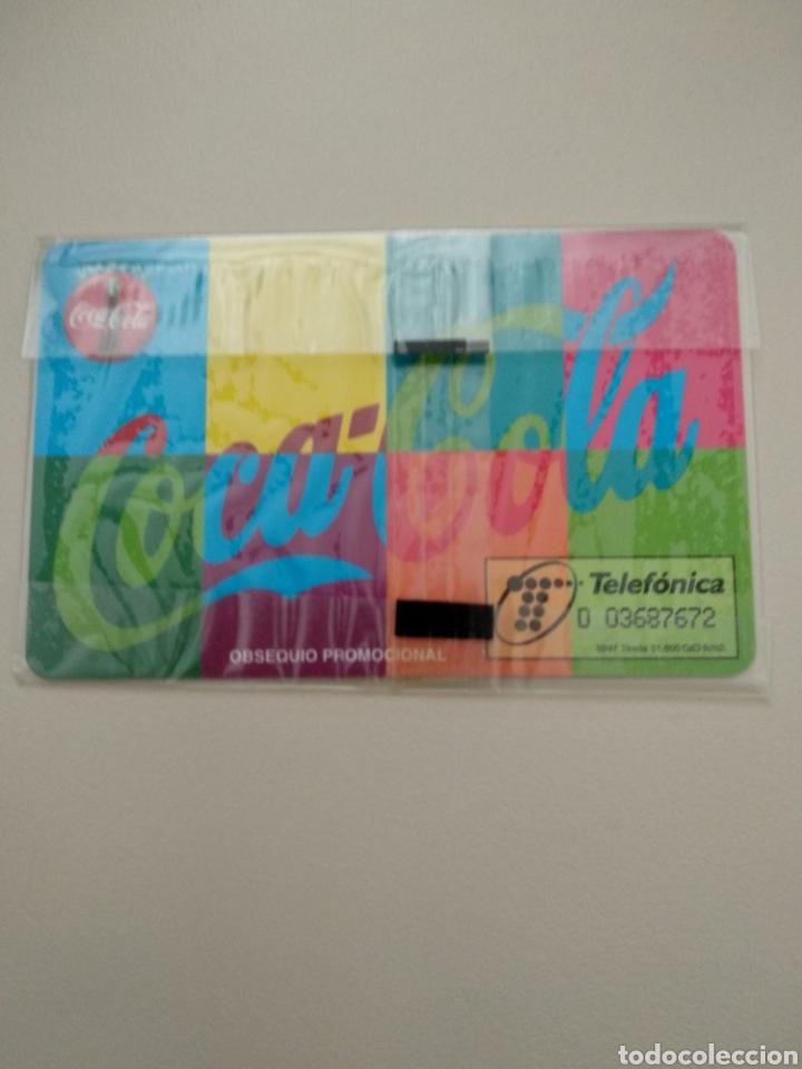 Tarjetas telefónicas de colección: COCA-COLA - Foto 2 - 195387406