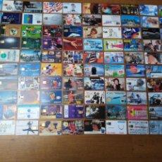Tarjetas telefónicas de colección: LOTE 100 TARJETAS TELEFÓNICAS FRANCESAS. Lote 198103842