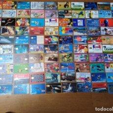 Tarjetas telefónicas de colección: LOTE 100 TARJETAS TELEFÓNICAS FRANCESAS. Lote 198105071