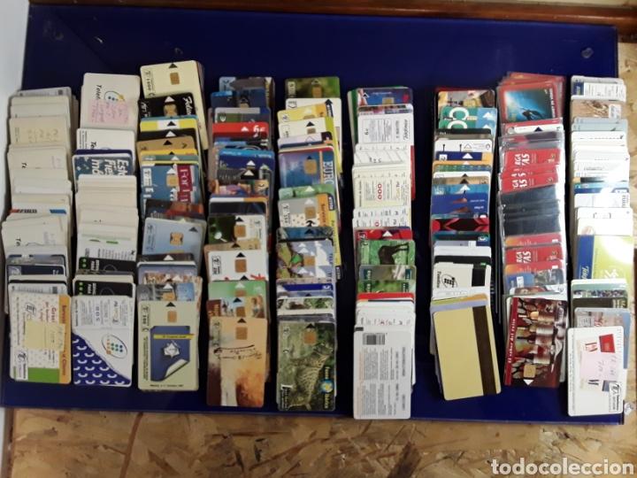 Tarjetas telefónicas de colección: Coleccion Lote de más de 350 antiguas tarjetas de teléfono - Foto 2 - 199502153