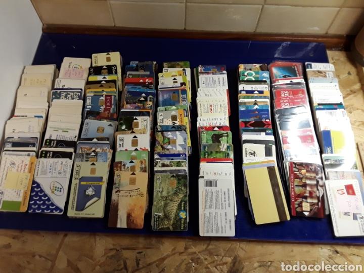 COLECCION LOTE DE MÁS DE 350 ANTIGUAS TARJETAS DE TELÉFONO (Coleccionismo - Tarjetas Telefónicas)