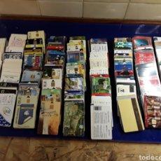 Tarjetas telefónicas de colección: COLECCION LOTE DE MÁS DE 350 ANTIGUAS TARJETAS DE TELÉFONO. Lote 199502153