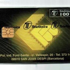 Tarjetas telefónicas de colección: TARJETA TELEFONO FILABO 100 PESETAS PRECINTADA TIRADA 6100 EJEMPLARES TELEFONICA. Lote 199769203
