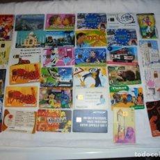 Tarjetas telefónicas de colección: LOTE DE 32 TARJETAS TELEFONICAS VARIADAS VER FOTOS. Lote 200819545