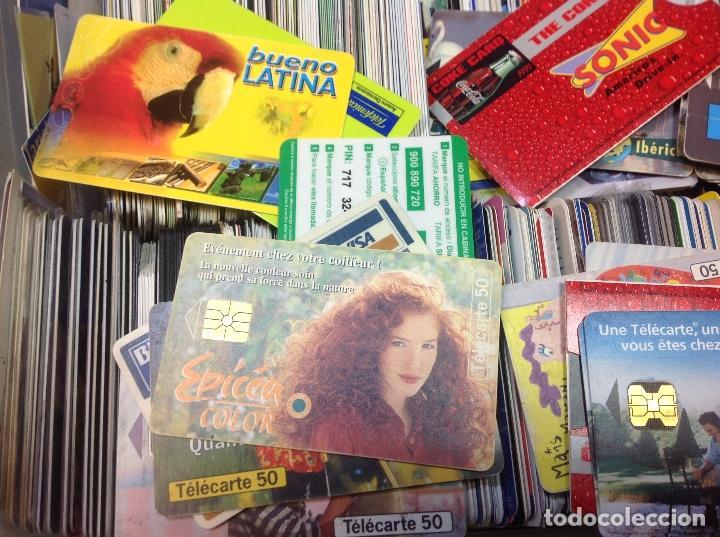 Tarjetas telefónicas de colección: LOTE DE 250 TARJETAS TELEFONICAS, DE TODO TIPO - Foto 2 - 201218795