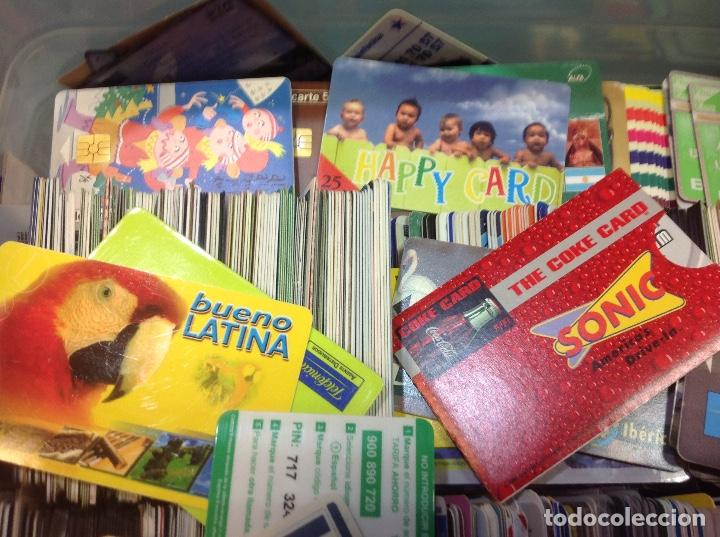 Tarjetas telefónicas de colección: LOTE DE 250 TARJETAS TELEFONICAS, DE TODO TIPO - Foto 3 - 201218795