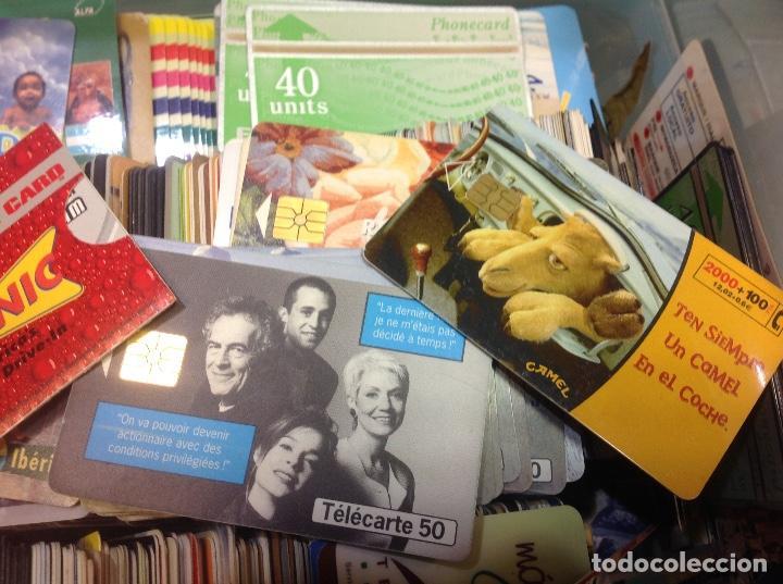 Tarjetas telefónicas de colección: LOTE DE 250 TARJETAS TELEFONICAS, DE TODO TIPO - Foto 4 - 201218795