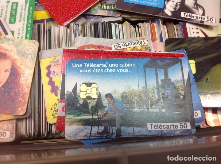Tarjetas telefónicas de colección: LOTE DE 250 TARJETAS TELEFONICAS, DE TODO TIPO - Foto 6 - 201218795