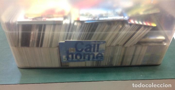 Tarjetas telefónicas de colección: LOTE DE 250 TARJETAS TELEFONICAS, DE TODO TIPO - Foto 7 - 201218795