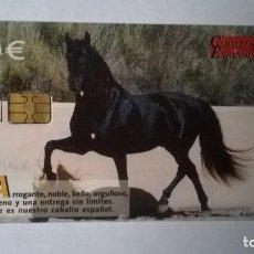 Cartes Téléphoniques de collection: TARJETA TELEFONICA CABALLO ESPAÑOL. Lote 205731081